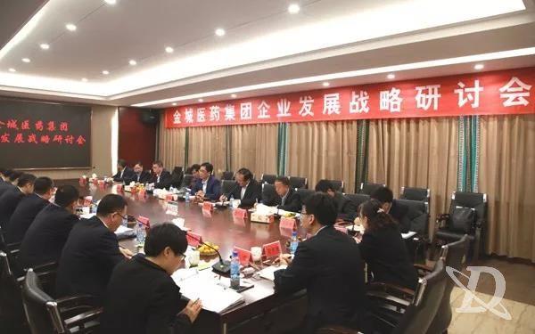 金城医药集团召开企业发展战略研讨会